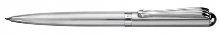 Canterbury Sterling Silver Ballpoint Pen - Fine Line Sterling Silver